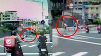 揹阿公搶8秒綠燈衝過馬路 霸氣「吳伯毅」網敲碗徵婚