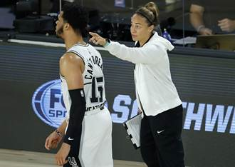 NBA》只是拓荒者教頭第2選擇 貝琪哈蒙放話沒生氣