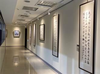 警局走廊「臥虎藏龍」商警攜手作品展