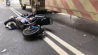 母女騎電動車鑽車縫 撞砂石車倒地9歲童遭輾亡