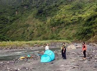 10人來義鄉瀑布秘境溯溪釀2溺水 高市消防局主管夫妻遭開罰