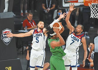 首場熱身賽爆冷 美男籃輸奈及利亞