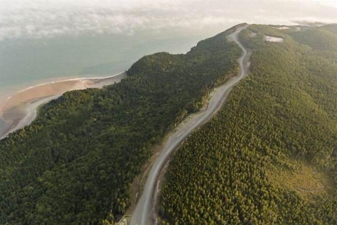 ▲西利海灘(Seely Beach)與芬迪步道公園。 圖:Nick Hawkins╱提供
