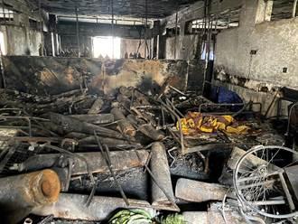 影》疑新冠病房氧氣瓶爆炸 伊拉克醫院大火逾50死數十傷