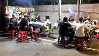 大東夜市遊戲攤商未保持社交距離 台南市府將開罰