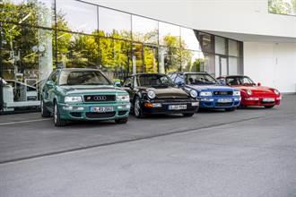 與Porsche經典共遊-1990年代破紀錄車款Audi Avant RS2重返誕生地祖文豪森