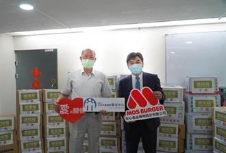 摩斯漢堡作公益 捐贈2仟包冷凍湯品