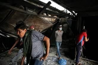 COVID-19病房氧氣瓶爆炸 伊拉克醫院大火增至66死