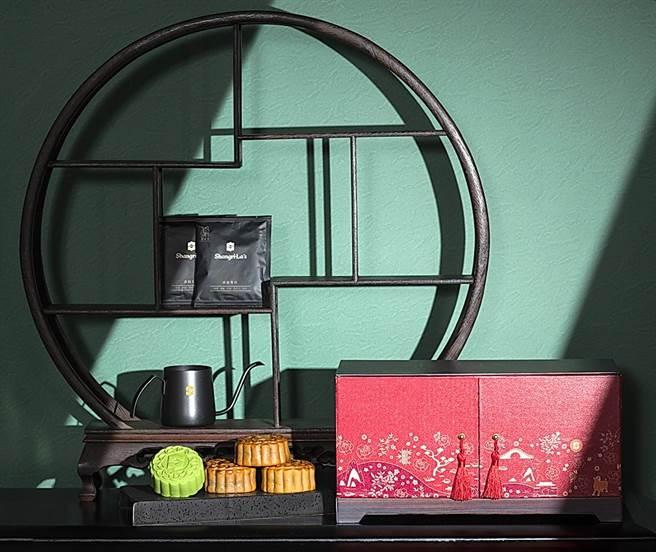 台北遠東飯店「豪華月餅音樂禮盒」,不僅可收納還是音樂盒。(圖/香格里拉台北遠東國際大飯店)