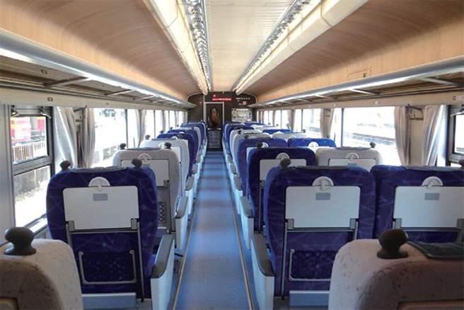 ▲商務車廂擁有全視野明亮觀景窗。 圖:臺灣鐵路管理局/提供