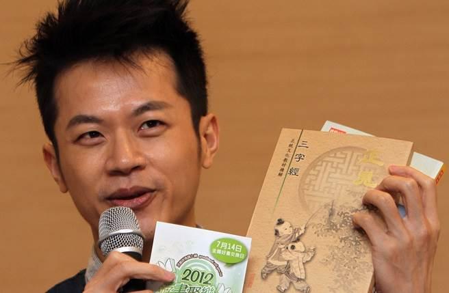前兒童台主持人「焦糖哥哥」陳嘉行,愛台灣形象深植人心。(本報系資料照)
