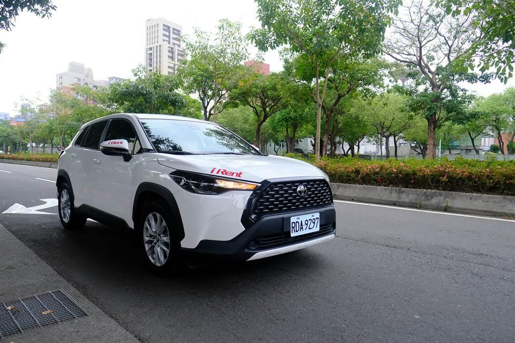 台灣街道iRent新風景!7月16日起租得到Corolla Cross。