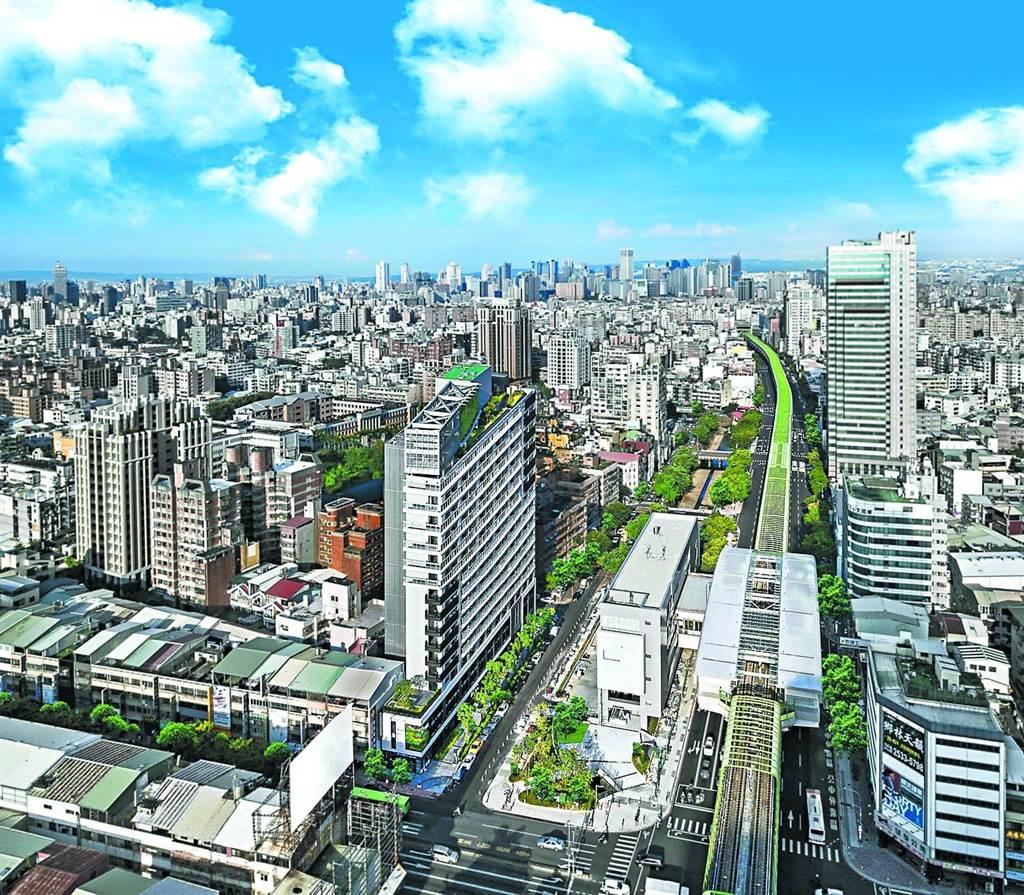 台中市北屯區產業、軌道經濟到位,為今年H1六都淨遷入人口排名冠軍。(永慶房產集團提供)