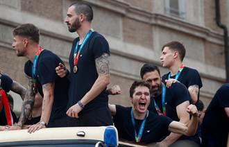 歐國盃》賽會最佳11人出爐 義大利5員C羅遺憾落榜