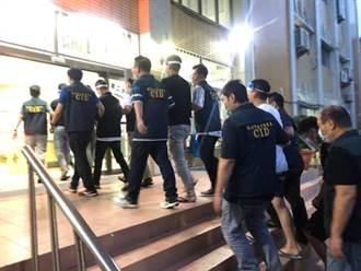 男欠賭債遭當街強押拘禁拍裸照 台南警方逮14人