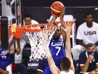 NBA》美夢隊28分血洗阿根廷 熱身賽終奪首勝
