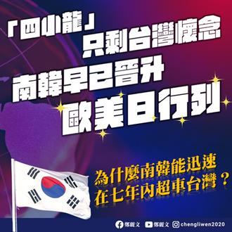 還在自以為「亞洲四小龍」?她狠揭真相:韓國已不屑台灣