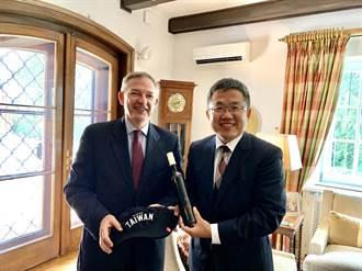 美大使邀官邸午宴 我駐匈牙利代表劉世忠感謝美捐台疫苗