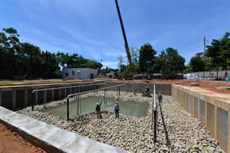 黃墘溪水質改善工程9月完工 公園槌球場將恢復使用