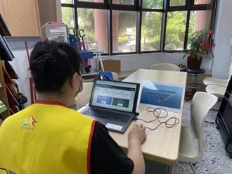 不用3C怎登記?中市民政局速設56處櫃台助疫苗意願登記