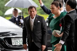 菲律賓總統大選民調 杜特蒂父女雙雙支持居冠