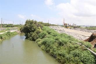 高雄永安北溝排水工程 預估2022年底完工