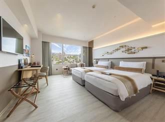 台北花園大酒店「全新客房雅緻客房24小時住滿專案」含餐每晚2588元起