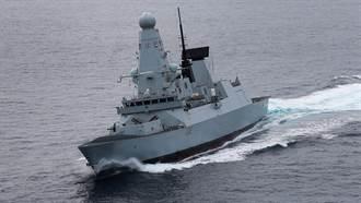 英國最強作戰艦又出包!鑽石號故障脫離伊女王航艦編隊