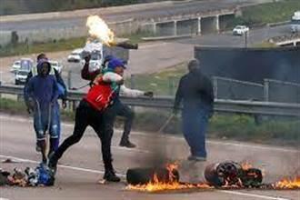 南非暴亂愈演愈烈 斷糧斷油危機浮現