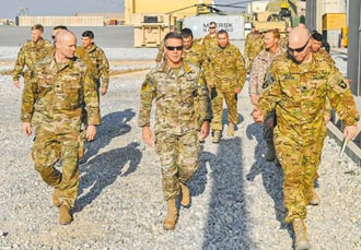 美軍駐阿富汗指揮官交權 結束任務