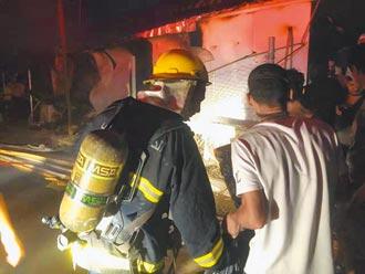 氧氣罐爆炸 伊拉克防疫醫院失火 至少64死
