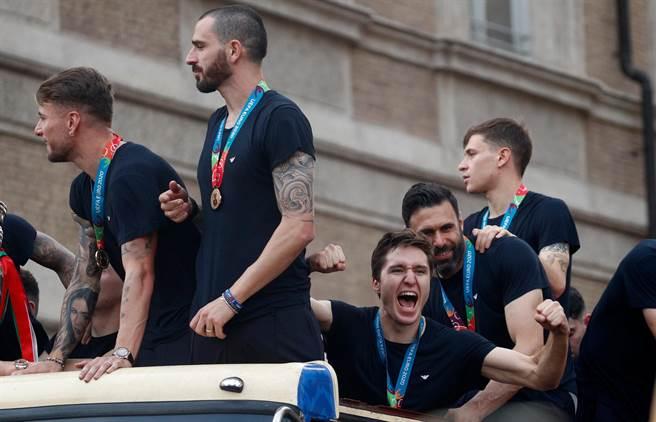義大利共5人入選(路透社資料照)