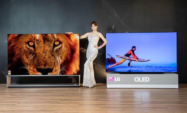 2021 LG OLED evo創視際搭載先進的 OLED 自體發光技術,結合 AI 科技、嶄新規格、智慧串聯及輕薄外型。(LG提供/黃慧雯台北傳真)