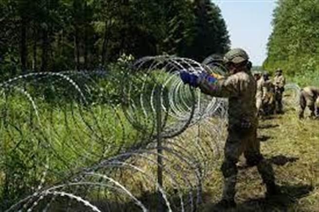 立陶宛通過新法阻難民。(鍾玉玨攝)
