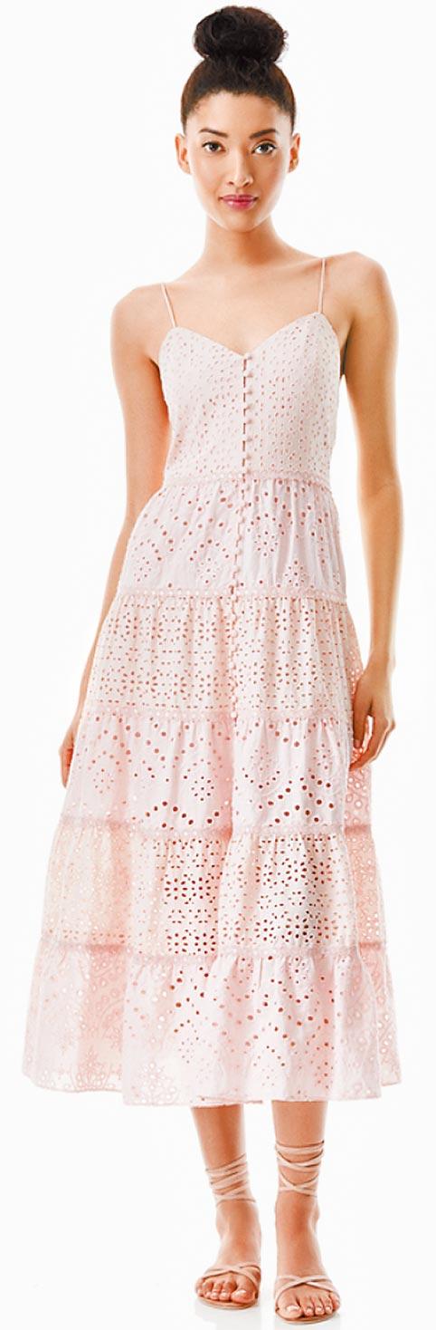 微風廣場「alice+olivia Shanti洋裝」,1萬6900元。(微風提供)