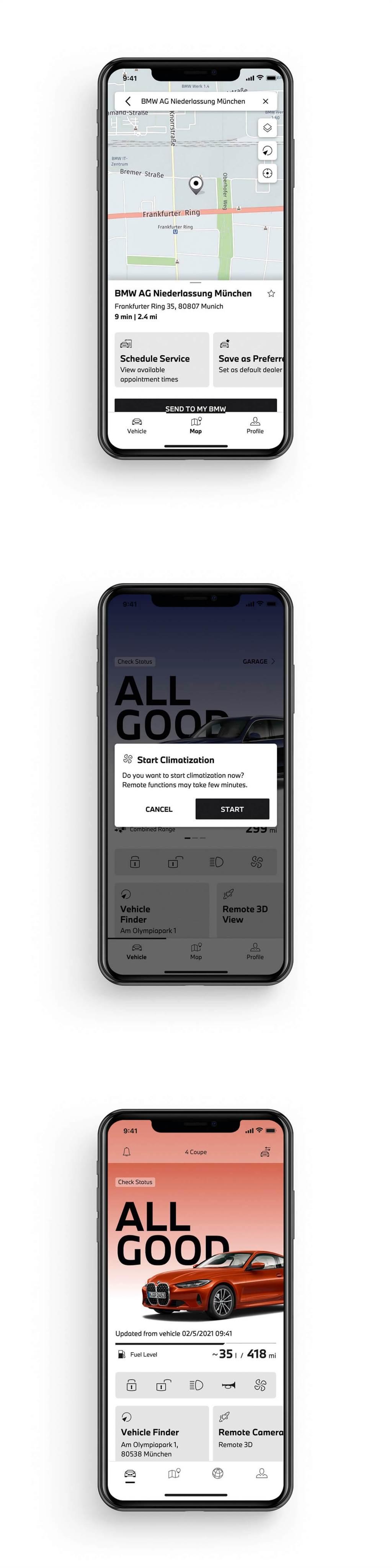 舊有BMW Connected App已到期,全面改用My BMW App並新增一些功能