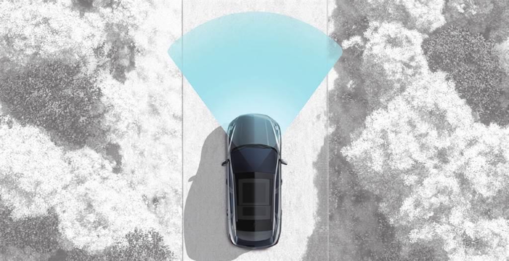 RED道路邊緣偵測系統需在65km/h以上才會作動,在國內較少適用路況。