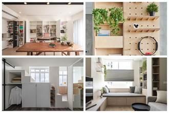 夏天也清爽的收納設計!居家收納量爆增、空間放大又明亮