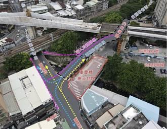 鶯歌重慶橋將改建 17日起實施封橋改道