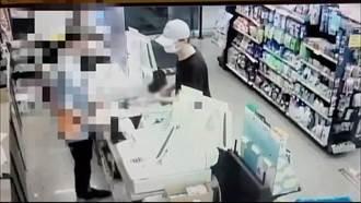 新北男持水果刀行搶超商 僅得手800元變裝躲藏仍遭逮