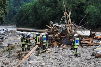 德國洪患重大災情 6屋坍塌造成4死30多人失聯