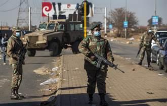 南非暴動釀72死 政府將出動2萬5000士兵鎮壓
