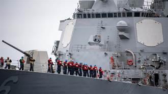 美國神盾艦加裝雷射炫光器 張競:背後藏著美國認知戰