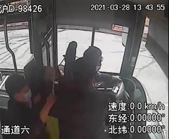 公親變事主 大陸新法上海首例 搶公車方向盤判刑8月罰2萬1