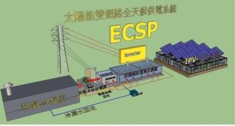 ECSP專利 打破太陽能晚上不供電限制