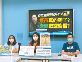 唐鳳預約平台出包 遭爆委外建置不透明