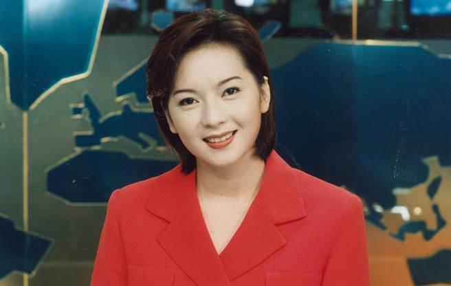 谷懷萱當主播時外型亮麗、口條清晰,累積不少死忠粉絲。(圖/中時資料照)