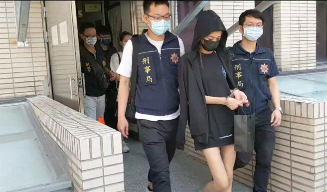 警方將洪姓主嫌等18名嫌犯移送法辦。(翻攝照片/林郁平台北傳真)