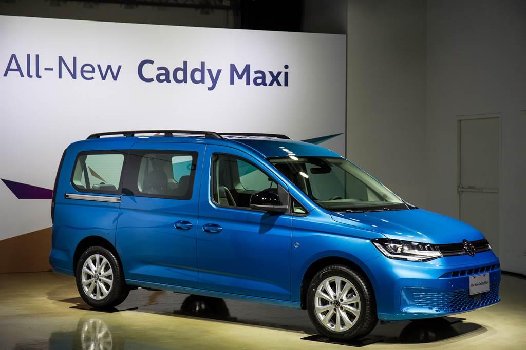 高效空氣力學設計使Caddy Maxi擁有0.3Cd的優異風阻係數。