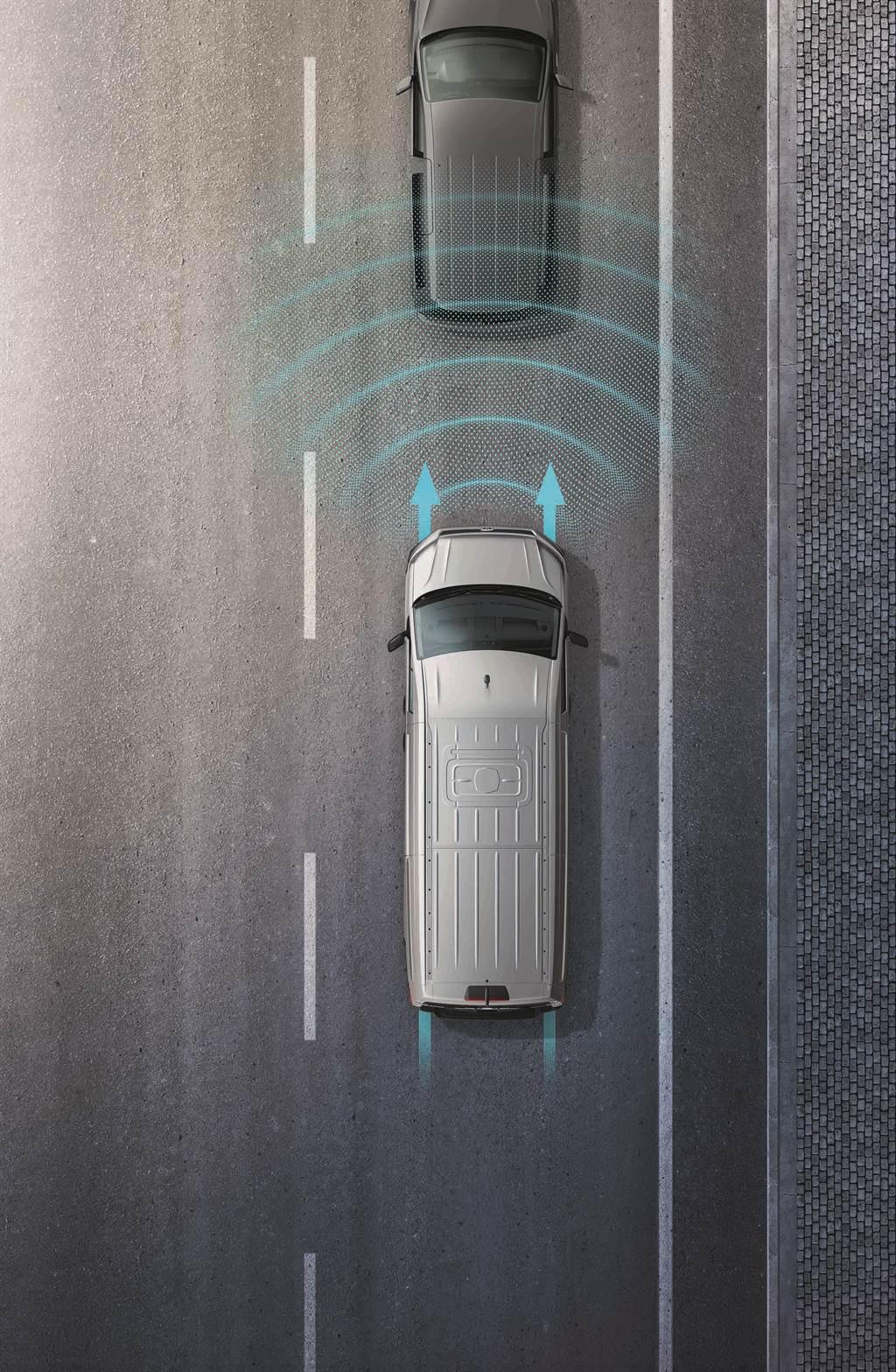 兩車型皆標配IQ.Drive智能駕駛輔助系統,提供ACC主動式車距調節巡航、AEB自動輔助緊急煞車等功能,2.0 TDI更多了Lane Assist車道維持及偏移警示系統。